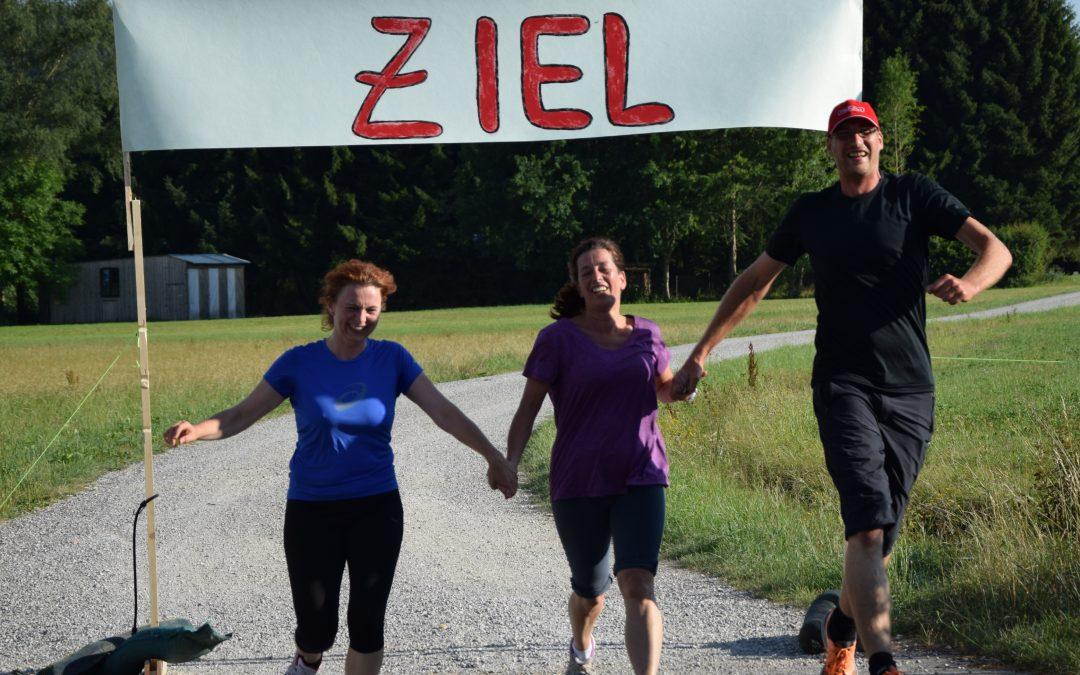 """Lauftraining für Anfänger """"von 0 auf 5 km in 12 Wochen"""" – Wir haben's geschafft!"""